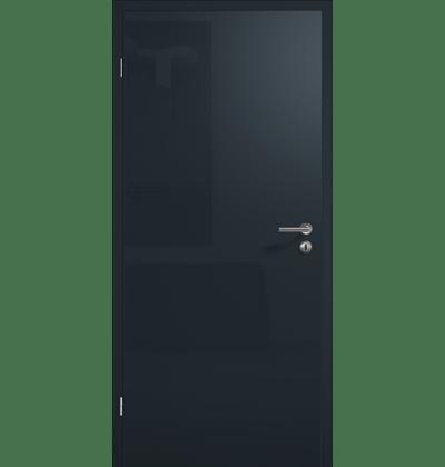 Глянцева поверхня, антрацитовий сірий RAL 7016