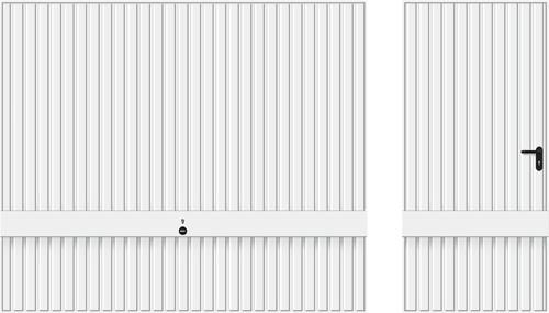 Мотив 941, транспортний білий RAL 9016